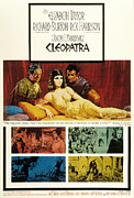 1963 Movies Prints - Cleopatra, Elizabeth Taylor, 1963 Print by Everett