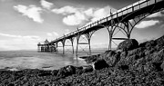 Local Framed Prints - Clevedon Pier Framed Print by Photographer Nick Measures