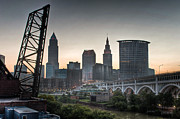 Cleveland Framed Prints - Cleveland Awakens Framed Print by At Lands End Photography