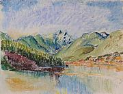 British Columbia Pastels - Cleveland Dam by Vis Community