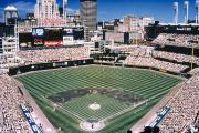 Baseball Photo Metal Prints - Cleveland: Jacobs Field Metal Print by Granger