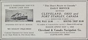 El Mar Art - Clevland Canada Navigation Co ca 1931 by  Clevland Ohio Port Stanley