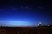 Water Mill Images Prints - Cley Windmill Print by Martin  Fry