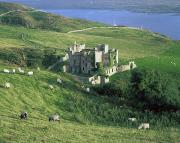 Connemara Photos - Clifden Castle, Co Galway, Ireland 19th by The Irish Image Collection