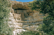 Montezuma Posters - Cliff Dwelling Ruins Poster by Photo Researchers, Inc.