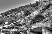 B Digital Art - Cliff Dwellings by Aaron Hernandez