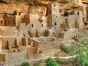 Landsape Posters - Cliff Dwellings  Poster by Ken Smith