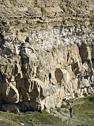 Limestone Quarry Framed Prints - Cliff Face, Dorset Framed Print by Adrian Bicker