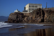 Seacoast Framed Prints - Cliff House San Francisco Framed Print by Garry Gay