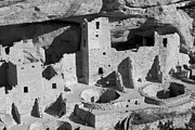 Mexico Pyrography Framed Prints - Cliff Palace New Mexico Framed Print by Will Edwards