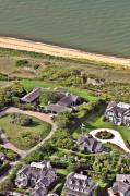 Custom Aerial - Cliff Road Houses Nantucket Island 5 by Duncan Pearson