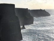 Atlantic Ocean Posters - Cliffs of Moher 1 Poster by Mike McGlothlen