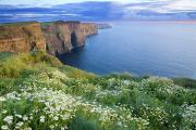 Featured Posters - Cliffs Of Moher, Co Clare, Ireland Poster by Gareth McCormack