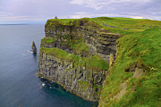 Cliffs Photos - Cliffs of Moher by Gabriela Insuratelu