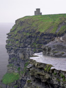 Watchtower Posters - Cliffs of Moher Ireland Poster by Charles Harden