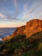 Cliffs Of White Bay Print by Stan Wojtaszek