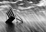 Deckchair Framed Prints - Climate Change, Conceptual Artwork Framed Print by Victor Habbick Visions