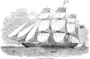 1851 Photos - Clipper Ship, 1851 by Granger
