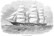 American City Prints - Clipper Ship, 1855 Print by Granger