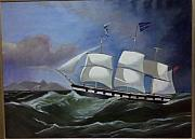 Brent Moody Art - Clipper Ship by Brent Moody
