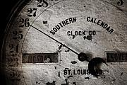 Antique Digital Art Prints - Clock face Print by Pete Hellmann