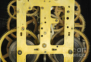Familiar Object Posters - Clock Gears Poster by Photo Researchers, Inc.