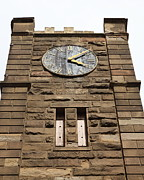Armory Prints - Clock Tower 1859 - Benicia California - 5D18611 Print by Wingsdomain Art and Photography