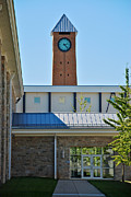 Mhs Posters - Clock Tower Poster by Mark Dodd