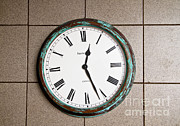 Roman Numeral Prints - Clock With Roman Numerals Print by Photo Researchers, Inc.