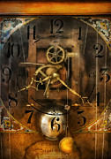 Clocksmith Prints - Clockmaker - A sharp looking time piece Print by Mike Savad