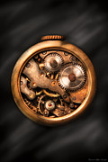 Clockmaker Photos - Clockmaker - Gears by Mike Savad