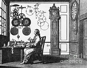 Clockmaker Posters - Clockmaker Poster by Science Source