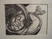 Stippling Originals - Clockwork by Alana Rose