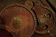 Clockwork Rust Print by Odd Jeppesen