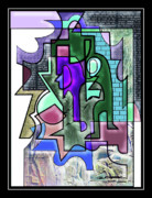 Dungeon Digital Art Acrylic Prints - Cloistered Acrylic Print by Dean Gleisberg
