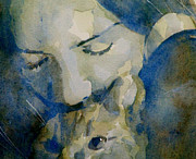 Singer Painting Metal Prints - Close my eyes Lullaby me to sleep Metal Print by Paul Lovering