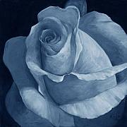 Billie Colson Paintings - Close to Perfection Blue by Billie Colson