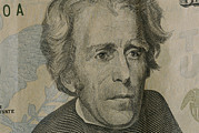Money Posters - Close Up Of Andrew Jackson Poster by Joel Sartore