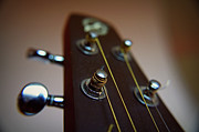 Bronze Prints - Close-up Of Guitar Print by Image by Maistora (Vladimir Dimitroff)
