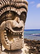 Kahuna Photos - Close-up of Kii by Ron Dahlquist - Printscapes