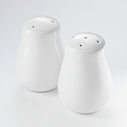 Pepper And Salt Art - Close Up Of Salt And Pepper Shakers by Brett Stevens