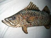 Realistic Reliefs - Close Up Of Snook Number Nine by Lisa Ruggiero