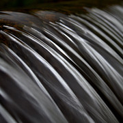Close Up Art - Close Up Of Waterfall by Photo by Anthony Thomas