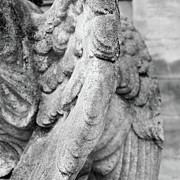 Old Berlin Prints - Close Up Of Wing Of Statue, Germany Print by This Is About My Way To See Light & Form In 2 Dimensions