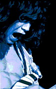 Concert Photos Digital Art - Close Up with Eddie by Ben Upham