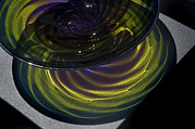 Glass Blowing Art - Close View Of Glass Bowl by Todd Gipstein