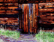 Log Cabin Art Digital Art Posters - Closed and Forgotten Poster by Joseph Noonan