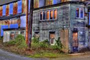 Tacoma Prints - Closed for Business Print by David Patterson