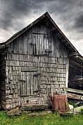 Old Barn Prints - Closed For Business Print by Pete Hellmann