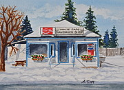 Andrea Timm Art - Closed For Season by Andrea Timm